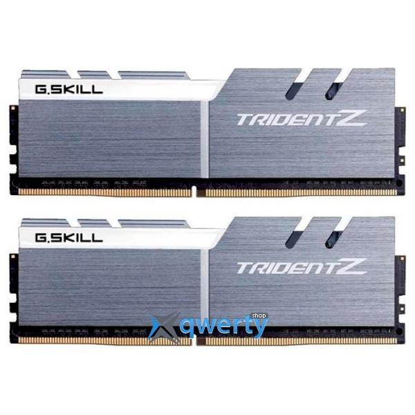 G.SKILL Trident Z Silver/White DDR4 3200MHz 16GB (2x8) (F4-3200C15D-16GTZSW)
