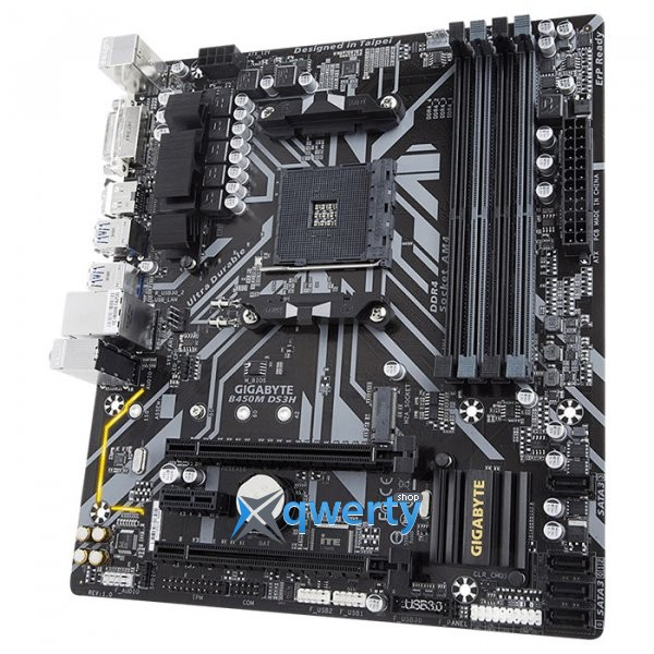 GIGABYTE B450M DS3H (sAM4, AMD B450)