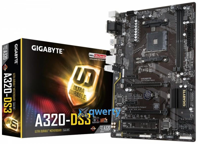 GIGABYTE GA-A320-DS3 (sAM4, AMD A320)