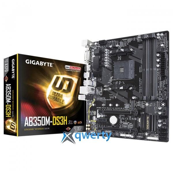 Gigabyte GA-AB350M-DS3H (sAM4, AMD B350)