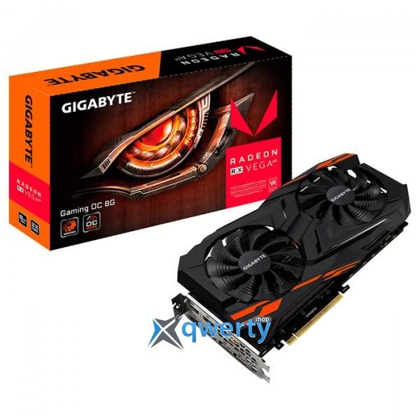Gigabyte Radeon RX Vega 64 8GB HBM2 (2048-bit) (1276/945) (3 x DisplayPort, 3 x HDMI) (GV-RXVEGA64GAMING OC-8GD)