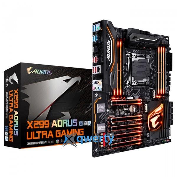 GIGABYTE X299 AORUS ULTRA GAMING (s2066, Intel X299)