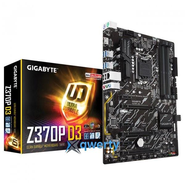 Gigabyte Z370P D3 (s1151, Intel Z370, PCI-Ex16)