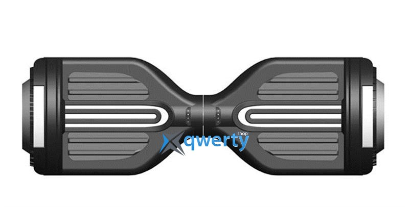 Гироборд Erover BD-S007M-White, с подсветкой и колонкой + пульт и сумка, USB, белый
