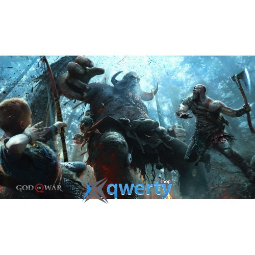 God of War IV (Русская версия) (PS4)