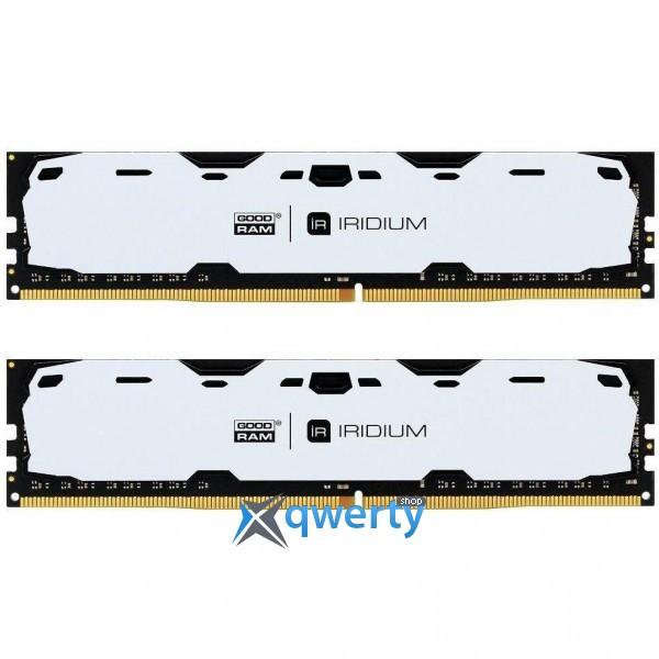 Goodram DDR4-2400 16GB PC4-19200 (2x8) IRDM White (IR-W2400D464L15S/16GDC)