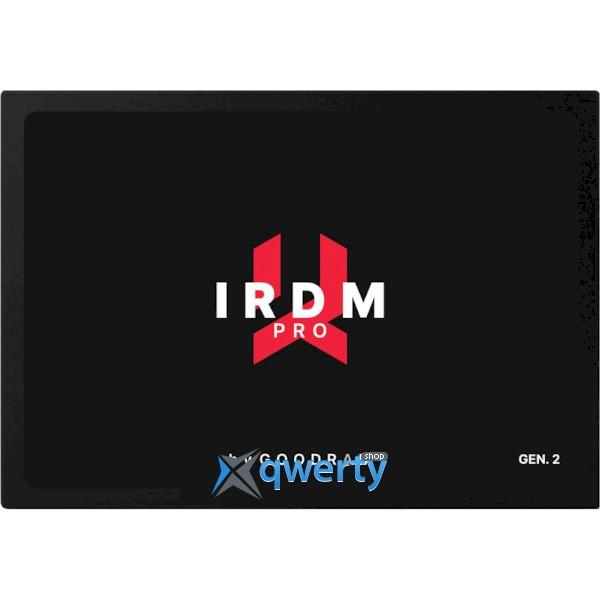 Goodram IRDM Pro Gen.2 1TB SATAIII 3D TLC (IRP-SSDPR-S25C-01T) 2.5