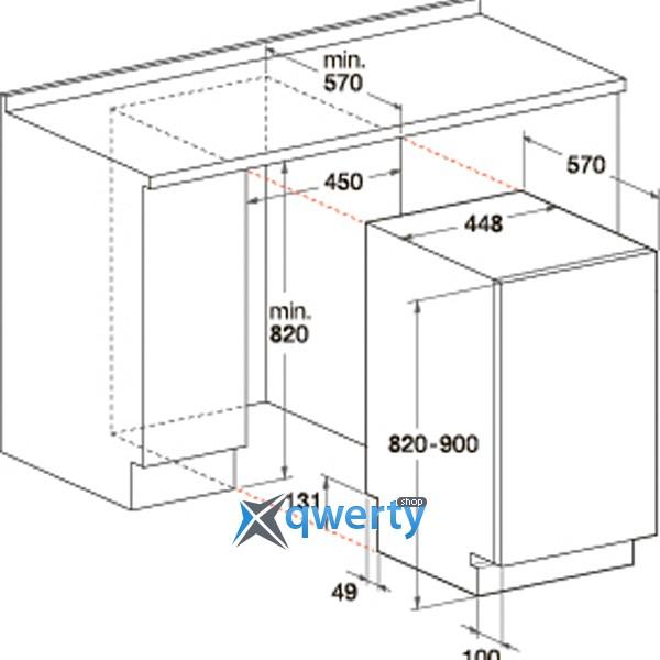 Схема посудомоечной машины hotpoint ariston