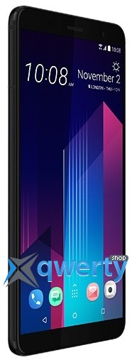 HTC U11+ 4/64Gb Dual Sim Ceramic Black (99HANE054-00)