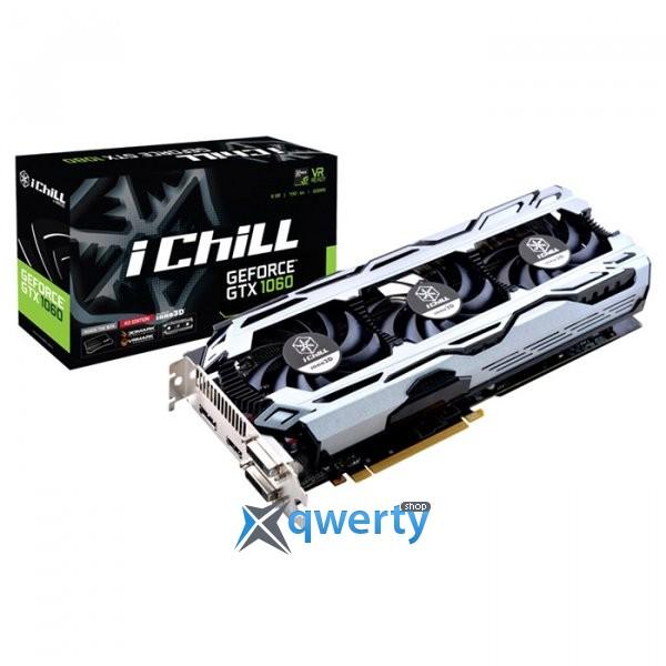 INNO3D GeForce GTX 1060 iChill X3 6GB GDDR5 (192bit) (1556/8000) (2 x DVI, HDMI, DisplayPort) (C106F2-3SDN-N5GSX)