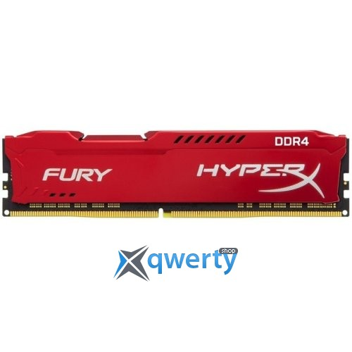 Kingston DDR4-2933 16GB PC4-23500 (2x8) HyperX Fury Red (HX429C17FR2K2/16)