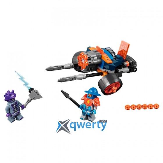 LEGO NEXO KNIGHTS Самоходная артиллерийская установка королевской гвардии 98 деталей (70347)