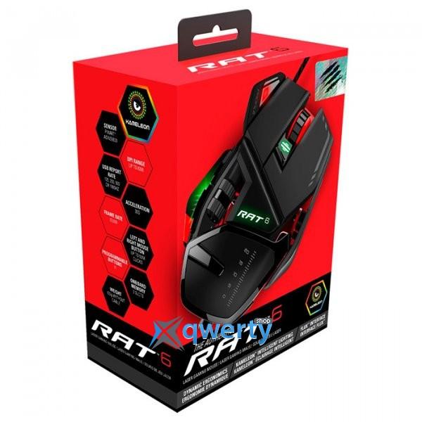 Mad Catz R.A.T. 6 USB Black (MCB4373200A3)