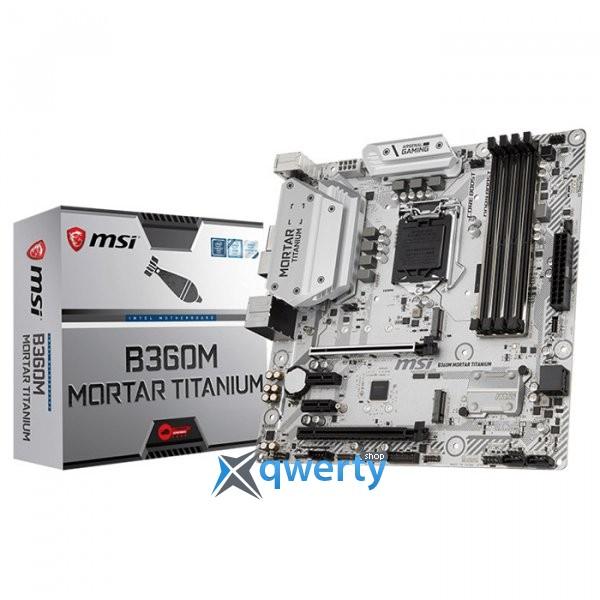 MSI B360M Mortar Titanium (s1151, Intel B360)