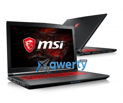 MSI GV72 7RE (GV72 7RE-1264XPL)16GB/1TB+120SSD/Win10X
