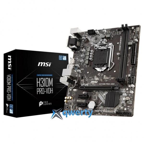 MSI H310M Pro VDH (s1151, Intel H310)