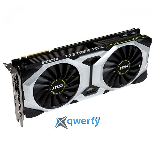 MSI PCI-Ex GeForce RTX 2080 Ventus 8GB GDDR6 (256bit) (1515/7000) (USB Type-C, HDMI, 3 x DisplayPort) (GeForce RTX 2080 Ventus 8G)