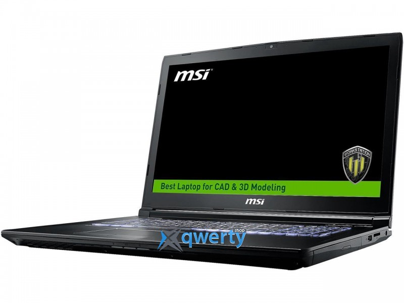 MSI WORKSTATION WE63 8SJ (WE638SJ-280US)