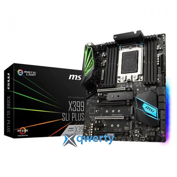 MSI X399 SLI Plus (sTR4, AMD X399, PCI-Ex16)