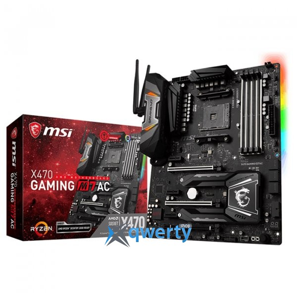 MSI X470 GAMING M7 AC (sAM4, AMD X470)