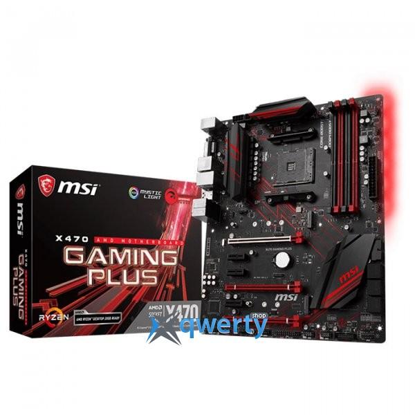 MSI X470 Gaming Plus (sAM4, AMD X470)