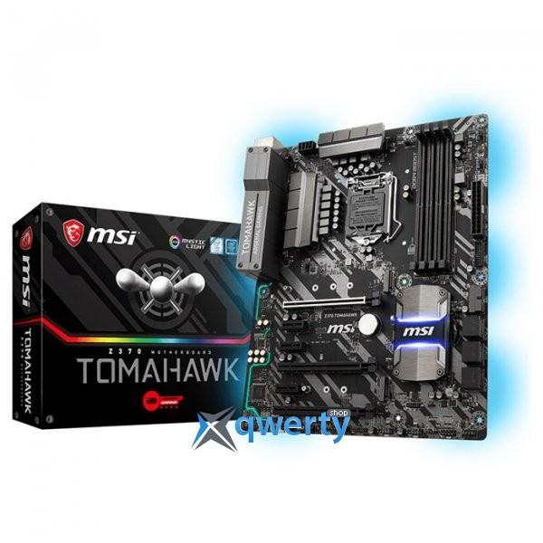 MSI Z370 Tomahawk (s1151, Intel Z370, PCI-Ex16)