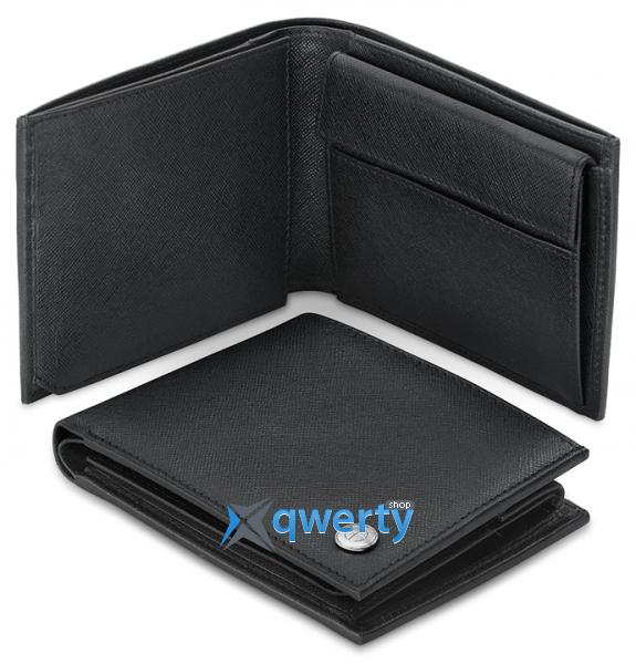 Мужское портмоне BMW Men's Basic Wallet Black (80212344453)