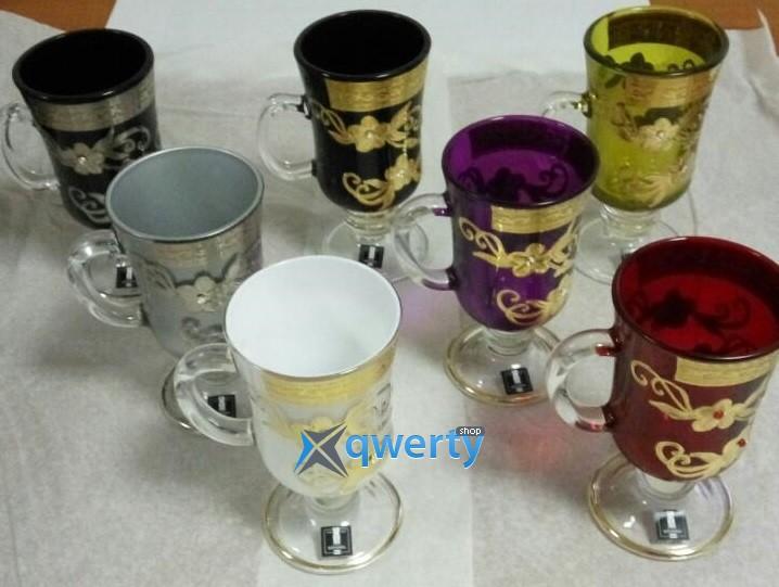 Набор бокалов для глинтвейна Venezia (assorti Swarovski)