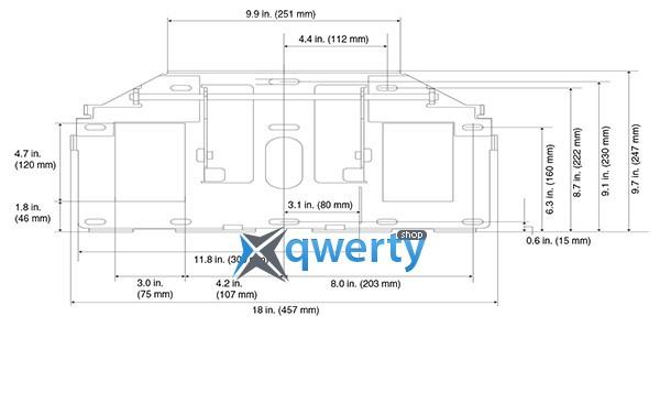 Настенное крепление для проектора Epson ELPMB45 (V12H706040)