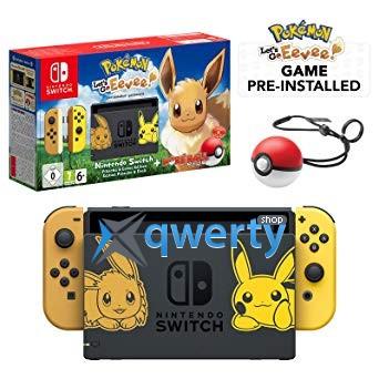 Nintendo Switch+Pokémon:Let