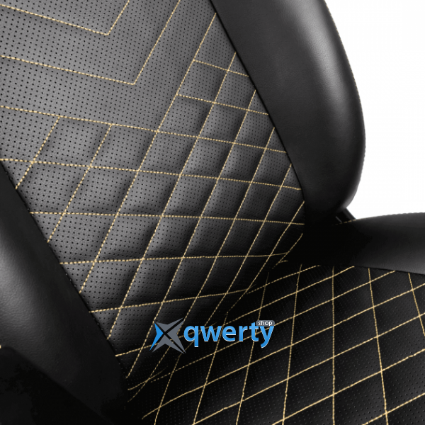 NOBLECHAIRS Icon Black/Gold (GAGC-102)