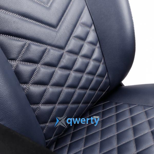 NOBLECHAIRS Icon Real Leather Midnight Blue (GAGC-092)
