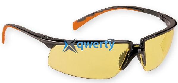 Очки защитные 3М Солус, PC AS/AF, желтые (71505-00004M)