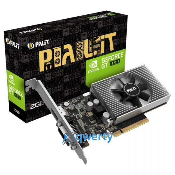 Palit GeForce GT 1030 2GB GDDR4 (64bit) (1151/2100) (HDMI, DVI) (NEC103000646-1082F)