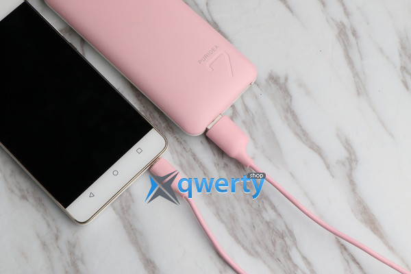 PURIDEA L02 - TYPE-C - 1.2M PINK (L02-USB-C Pink)