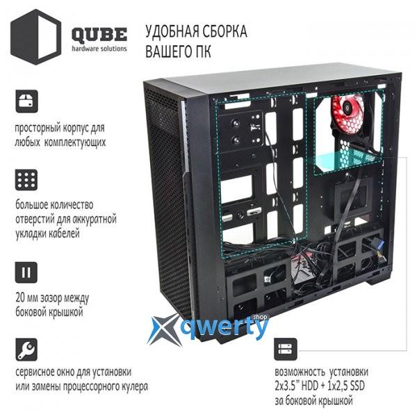 QUBE QBF26 Black (QBF26_FCNU3)