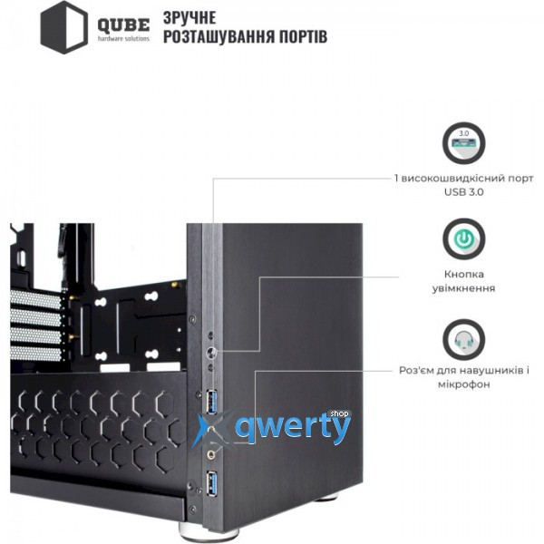 QUBE Style Black (QBC3M_WBNU3)