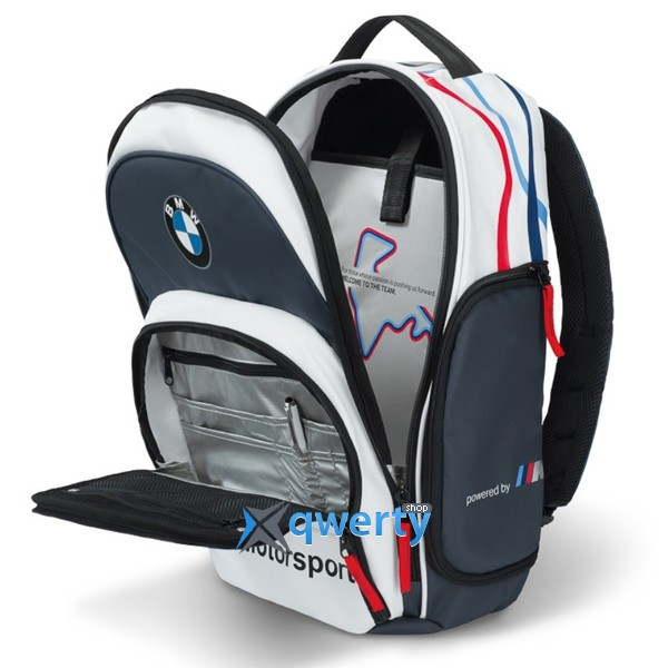 Рюкзак BMW Motorsport Rucksack Blue White 2015(80222285879)