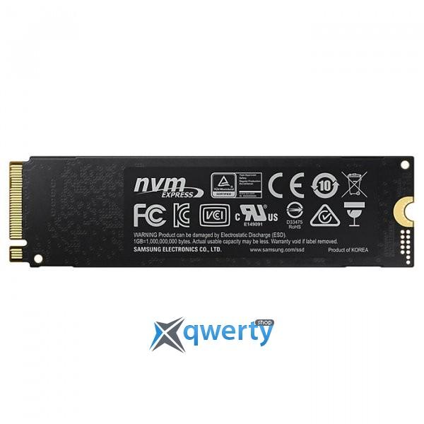 Samsung 970 Evo series 1TB M.2 PCIe 3.0 x4 V-NAND MLC (MZ-V7E1T0BW)