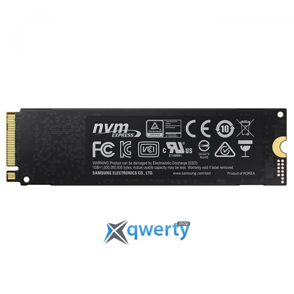 Samsung 970 Evo series 500GB M.2 PCIe 3.0 x4 V-NAND MLC (MZ-V7E500BW)