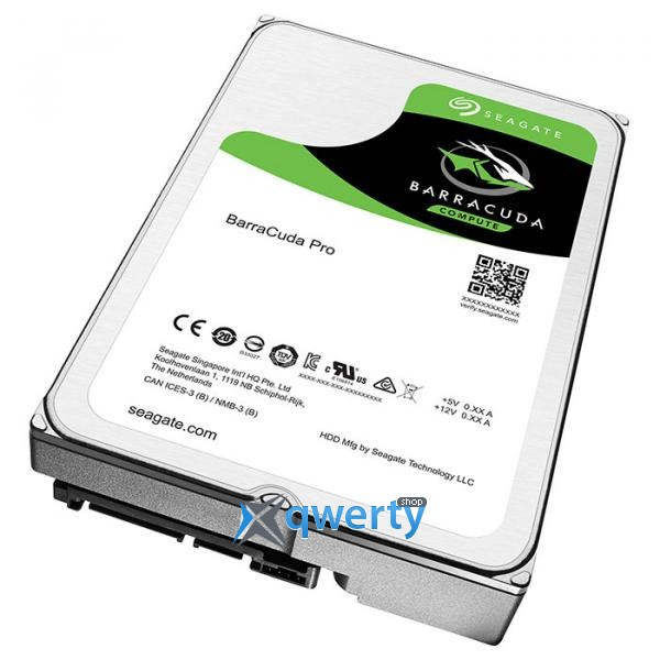 Seagate BarraCuda Pro HDD 4TB 7200rpm 128MB (ST4000DM006) 3.5 SATA III