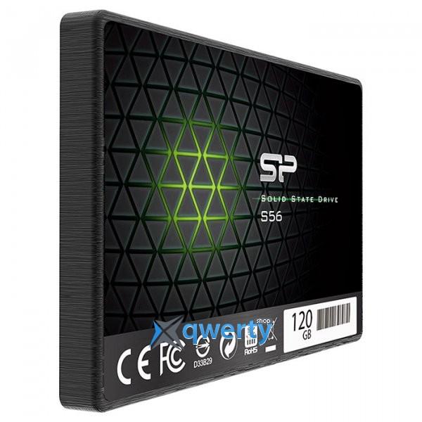 Silicon Power S56 120GB SATAIII TLC (SP120GBSS3S56B25)
