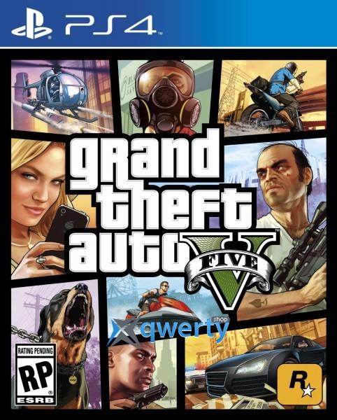 Sony Playstation 4 1TB slim + MAFIA + Grand Theft Auto V GTA 5