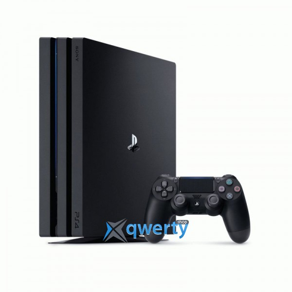 Sony PlayStation 4 Pro Black (CUH-7008B) + Fifa 18 + PS Plus 14 дней