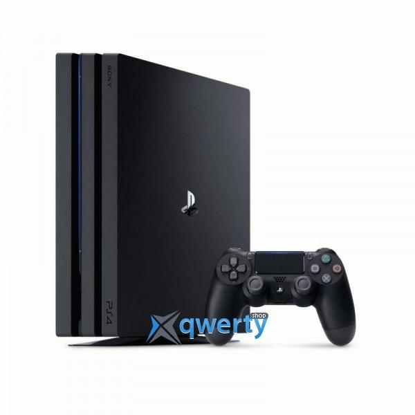 Sony PlayStation 4 Pro Black (CUH-7008B) + Fifa 18 + PS Plus 14 дней