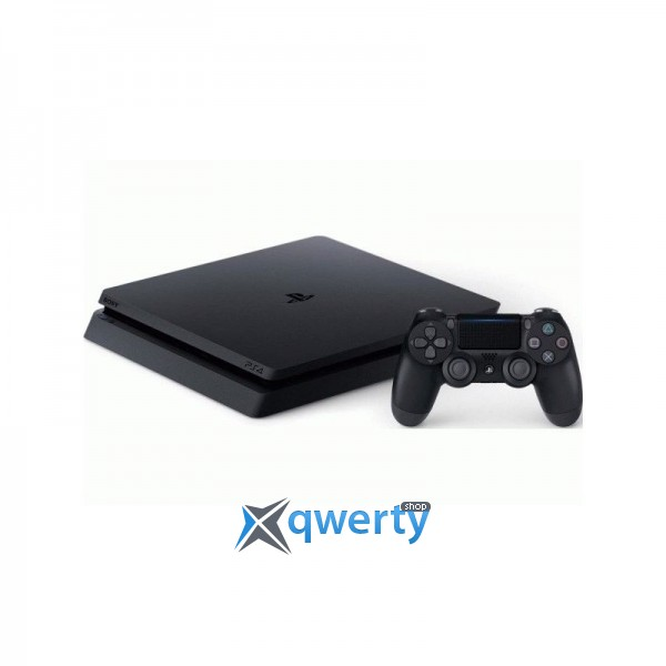 Sony PlayStation 4 Slim 1TB (CUH-2108B) + Fifa 18 + PS Plus 14 дней