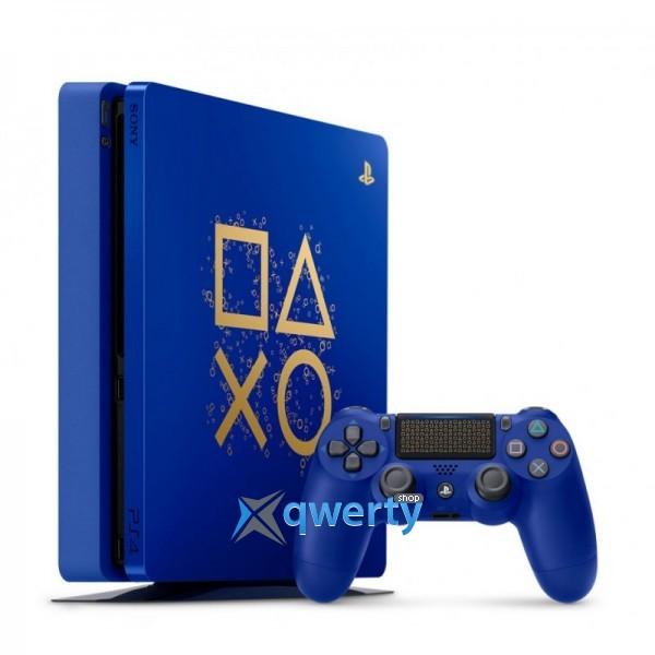 Sony PlayStation 4 Slim 500 Gb Days of Play Special Edition + Джойстик V2 Blue