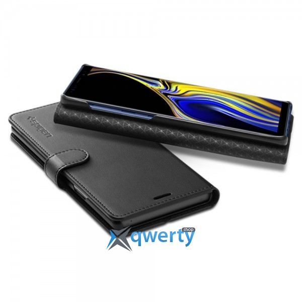 Spigen Galaxy Note 9 Case Wallet S Black (599CS24579)