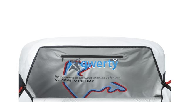 Спортивная сумка BMW Motorsport Sports Bag White 2015(80222285880)