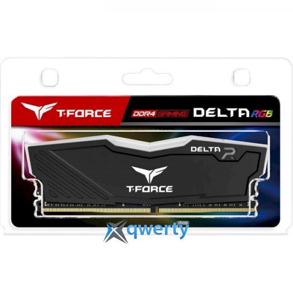 TEAM T-Force Delta RGB Black DDR4 3200MHz 16GB (TF3D416G3200HC16F01)
